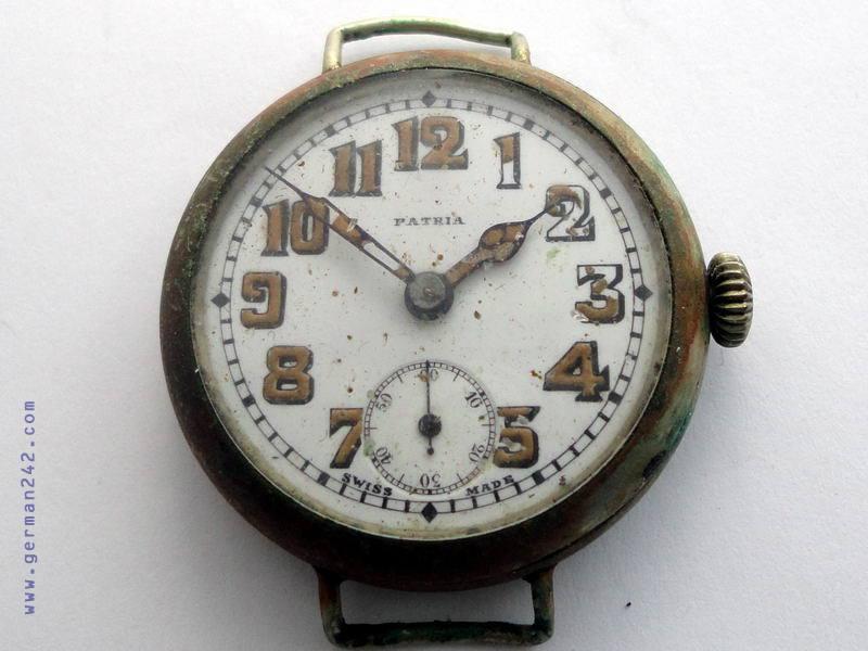 Часы с радиевой краской