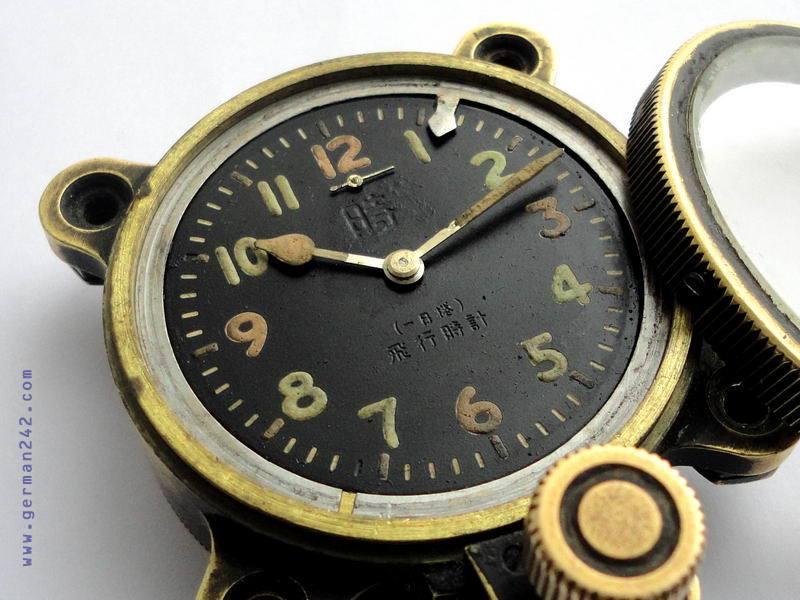 Японские часы Seikosha с радиацией