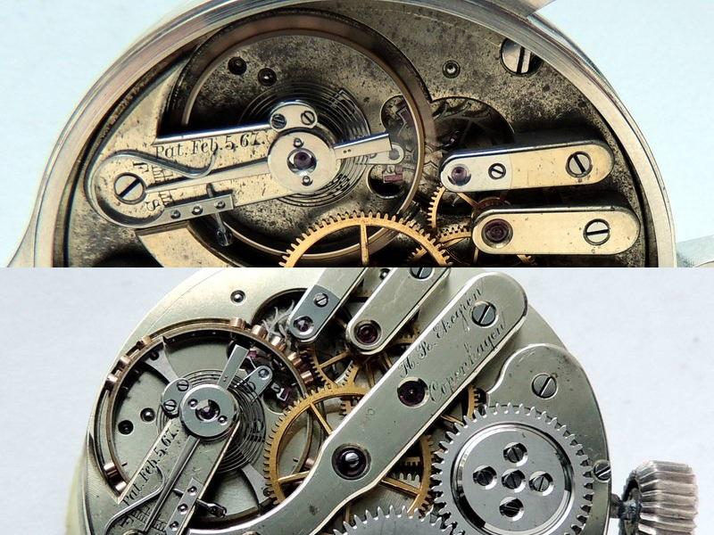 H.R. Ekegren Pocket Watch - 18k Yellow Gold Hunter 2 Yr ...