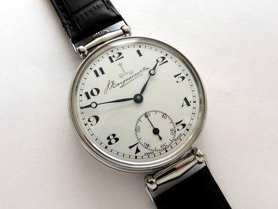 Описание мужских наручных часов Полёт 23 камня выпуск 1970-х годов