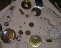 ремонт старинных серебряных английских часов