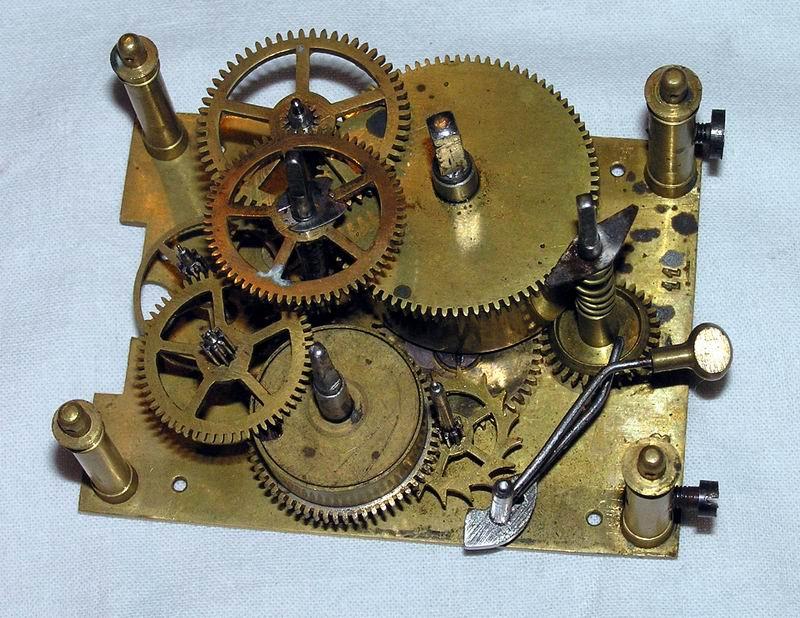 Изготовление механизма часов своими руками 45