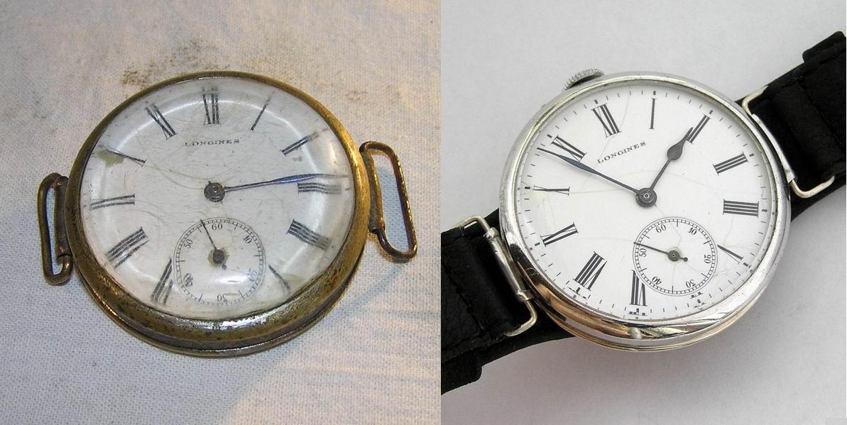 Реставрация старых наручных часов своими руками