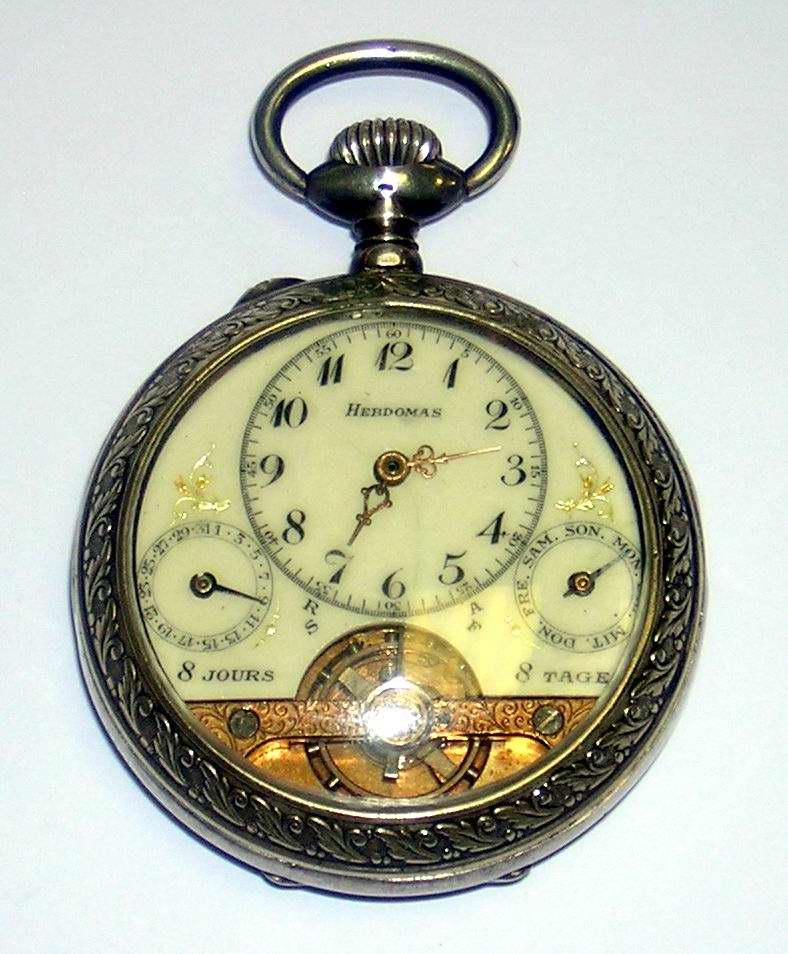 german.242 watch collection. hebdomas day-date calendar IA92