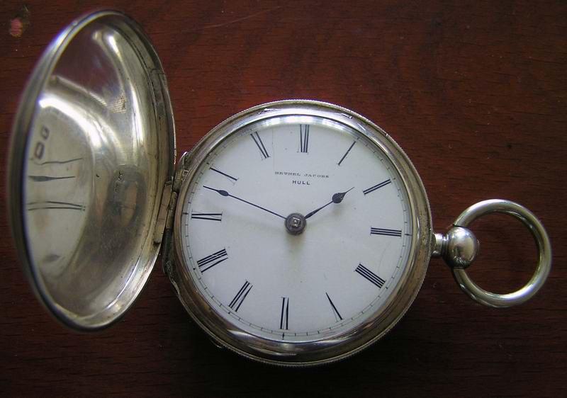 Старинные карманные часы с фузеей Murray