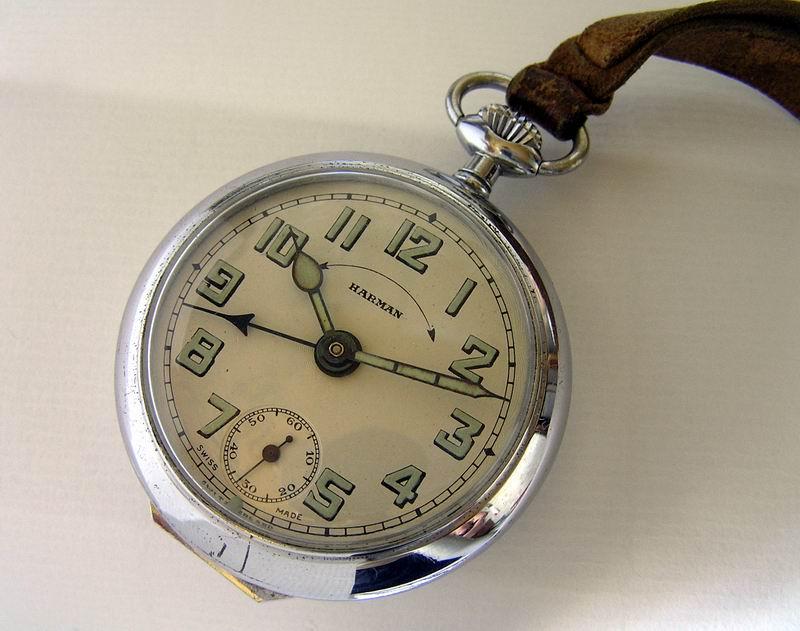 Карманные часы с будильником HARMAN