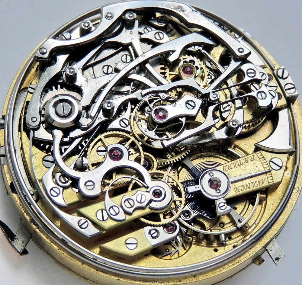 Vintage LeCoultre minute repeater split chronograph perpetual calendar movement