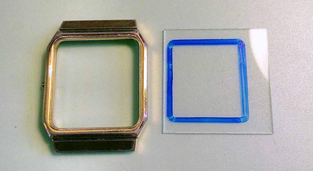 watch repair glass crystal