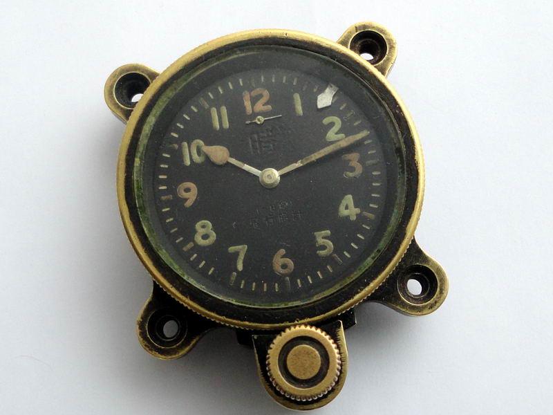 Seikosha type 93 dashboard clock