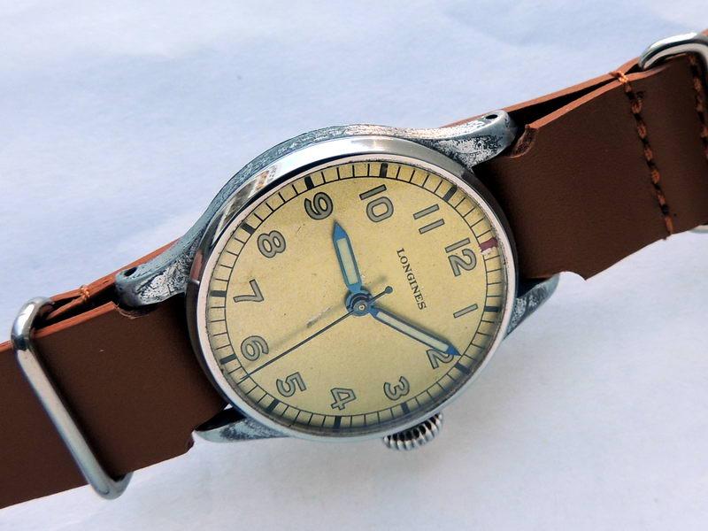 Longines лонжин редкие часы военные швейцария швейцарские часы.