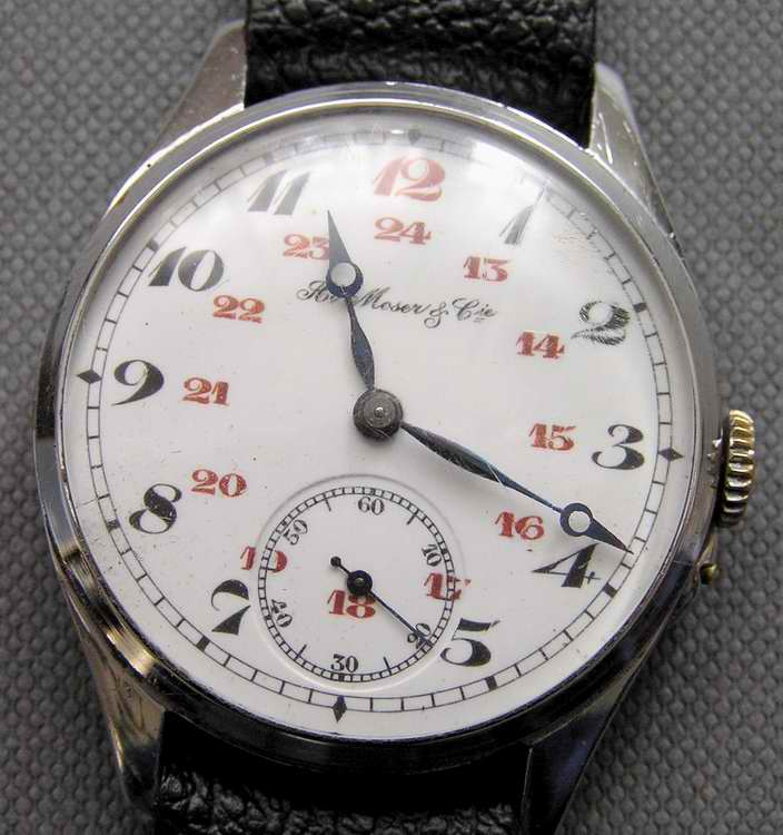 Мозер часов стоимость старинных часы комиссионный сдать